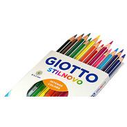 Lapiz Giotto Stilnovo 12 Colores Pinturitas Calidad Premium