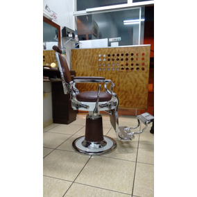 Cadeira Salão Barbeiro Cabeleireiro Ferrante - Antiga