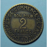 Francia 2 Francos 1923 Bueno Km 877