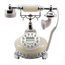 Telefone Pedra Concha Gelo Luxo Vintage Decoração