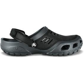 Zapato Crocs Caballero Yukon Sport Gris/negro