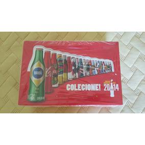 Caixa Lacrada Mini Garrafinhas Coca Cola 2014 Fifa Promoção