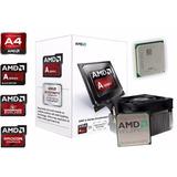 Kit Mb Ecs A68f2p-m4, Cpu Amd Apu A4-6300, Memoria Ram 4gb