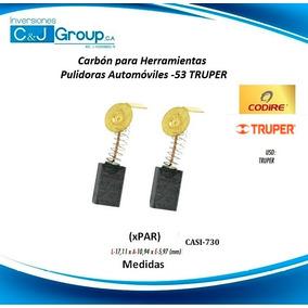 Carbon O Escobilla (xpar) Pulidoras Automoviles -53 Truper