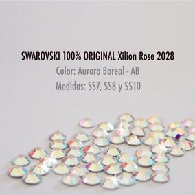 100pz Piedras Cristal Swarovski Original Tornasol Uñas