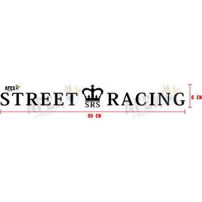 Calco Street Racing - Stickers 50cm X 6cm