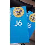 Samsung J6 32gb + Tarjeta Sd De 32 Gb Nuevo De Caja