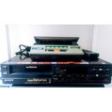 Cassetera Con Videograbadora Sony Rebobinadora Betamax Vhf
