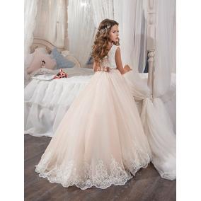 Vestido Niña Primera Comunion Pajecita Matrimonio Fiesta
