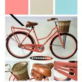 Bicicleta De Mujer Paseo Estilo Antigua Vintage Tipo Inglesa