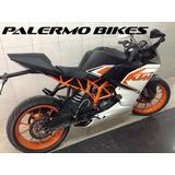 Ktm 200 Rc Blanco Solo 10700 Kms Modelo 2016 Palermo Bikes
