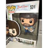 Funko Pop 524 Bob Ross Recién Salido Al Mercado!