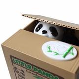 Alcancía Electrónica Automática Robamonedas De Panda