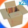 25 Cajas Cartón Reforzadas 40x30x30 Embalaje Nuevas