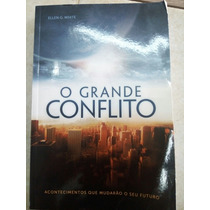 O Grande Conflito Ellen G White Livro Conservado