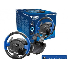 Volante Thrustmaster T150 Force Feedback Para Ps4 & Ps3 / Pc