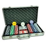 Juego De 300 Fichas De Poker 2 Deck Y Dados