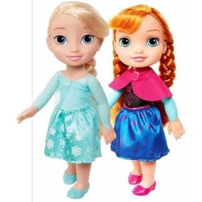Frozen Anna Y Elsa , 32 Cm Envio Gratis