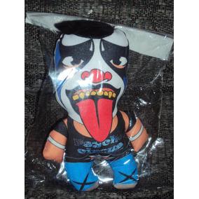 Muñeco Tipo Peluche De Luchador Psycho Clown Lucha Libre