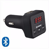 Manos Libres Bluetooth Y Transmisor Fm Fmt-867 Manejo Seguro
