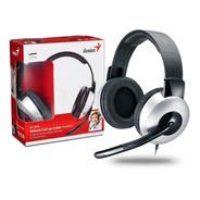 Auriculares Con Microfono Genius Hs-05a Pc Gamer Zoom Skype