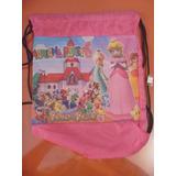Bolsito Tula - Super Princess Peach Mario Bross