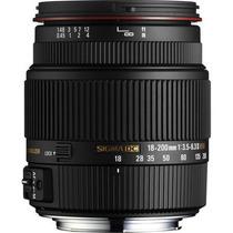 Lente Sigma 18-200mm F/3.5-6.3 Ii Dc Os Hsm Para Canon Eos