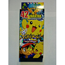 Pokemon Tarjetas De Batalla/poder (42 Piezas)