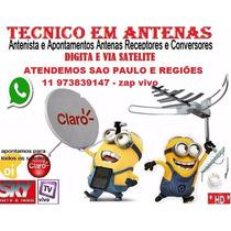 **promoção Cabo 15 Mts Gratis ** Apontamento De Antenas