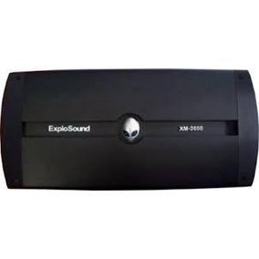 Módulo Amplificador Explosound Xm3600 4ch Mosfet Ab