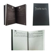Death Note Libreta Kira Todas Reglas Misa Notebook L Ryuk