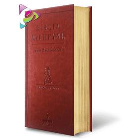 Bíblia De Estudo Mc Cheyne Leitura Diária Marrom Cód. 26211