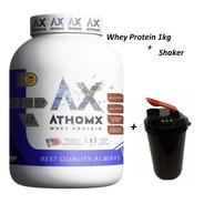 Shaker + Whey Protein 1 Kg, Athomx Calidad Premium