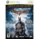 Batman Arkham Asylum Goty Fisico Nuevo Xbox 360 Dakmor