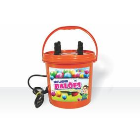 Inflador De Balões Ou Bexigas 4 Bicos Uso Profissional 110v