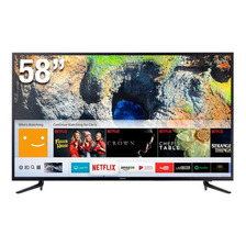 Tv Samsung 58  Smart Led 4k Ultra Hd  Un58mu6120kxzl