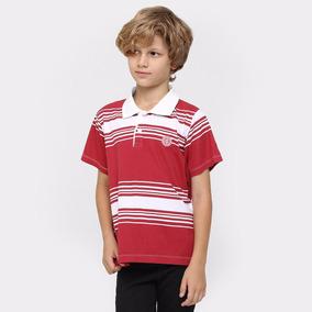 Camisa Polo Infantil Internacional 12 Anos Botoes Masculina