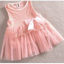 Vestido Princesa Rosa Fiesta Parece De Azúcar