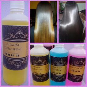 Alisado 3en 1+shock De Keratina+oro Liquido+shampoo