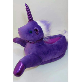 Pantuflas Con Luces De Unicornio