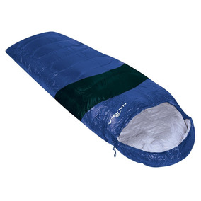 Saco De Dormir Ntk Viper 5ºc A 12ºc - Azul E Preto
