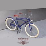 Bicicleta Roda 72 Raios Bike Caiçara Praiana Harley Completa