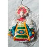 Muñeca Souvenir Rusa, Original Nueva En Su Empaque