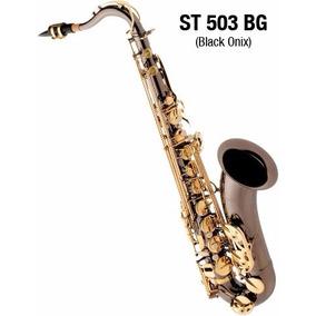 Saxofone Tenor Sax Com Case St503 Bg Eagle Black Onyx