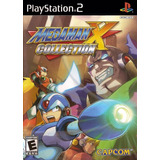 Megaman X Collection.-ps2
