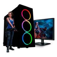 Pc Gamer Core I7 10700  16gb Ssd 480gb Gtx 1050ti Led 22 N7