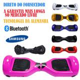 Hoverboard Skate Electrico Barato Bluetooth Samsung Rosa