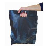 300 Bolsas Riñon Negras Lisa Plasticas Ropa  50x60