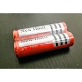 Pila Batería 18650 Recargable 3.7v 3800mah Li-ion Vaper