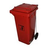 Basusero Plástico C/ Pedal - 120l - Varios Colores Super Pro